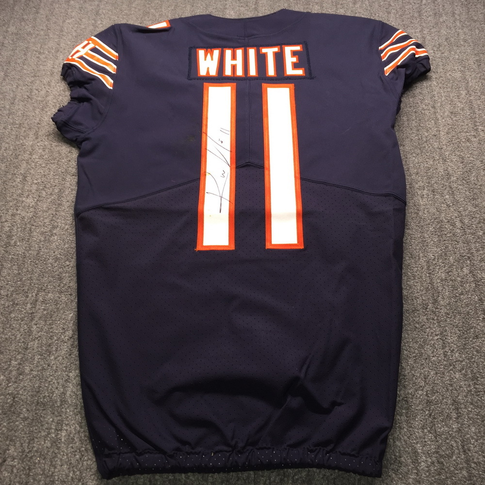 Crucial Catch - Bears Kevin White Signed Game Used Jersey (10/21/18) Size 40