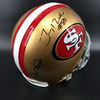 PCC - 49ers Jerry Rice, Steve Young, Joe Montana signed helmet