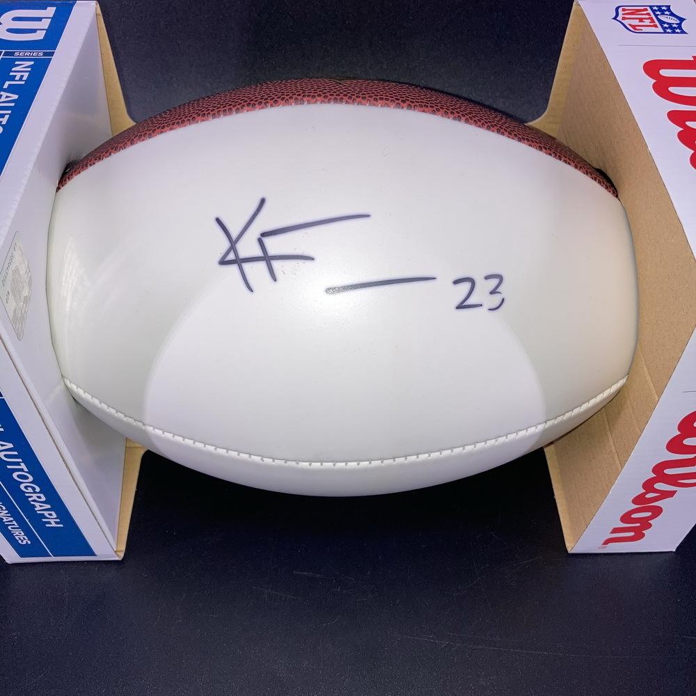 Bears - Kyle Fuller Signed Panel Ball
