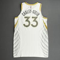 Willie Cauley-Stein - Dallas Mavericks - Game-Worn - City Edition Jersey - Recorded a Double-Double - 2020-21 NBA Season