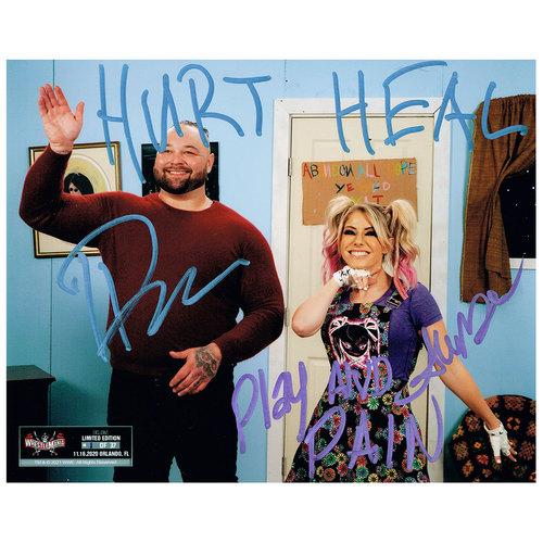 Bray Wyatt and Alexa Bliss SIGNED WrestleMania 37 Exclusive 8x10 Photo (#1 of 37)