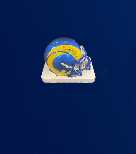 Van Jefferson Signed Mini-Helmet