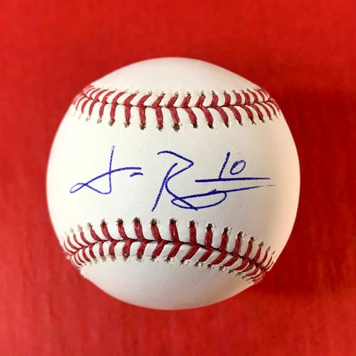 Photo of Josh Rojas Autographed Baseball