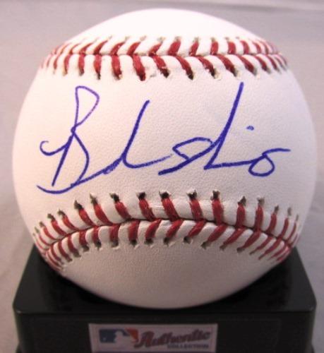 Photo of Brandon Nimmo Autographed Baseball