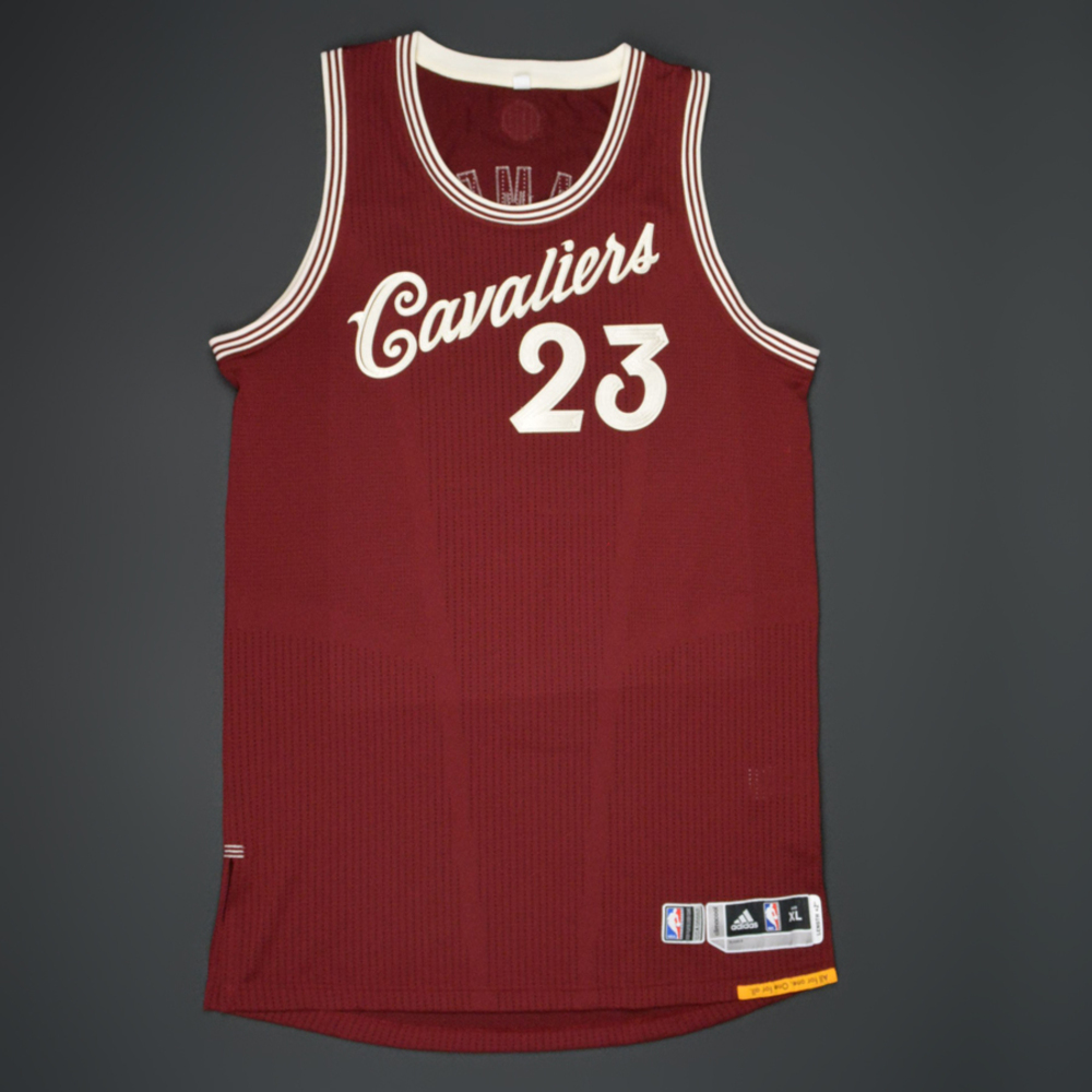 reputable site 6bdf5 f36e7 LeBron James - Cleveland Cavaliers - Game-Worn Jersey - NBA ...