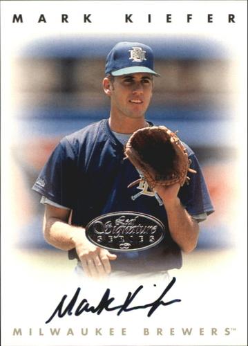 Photo of 1996 Leaf Signature Autographs Silver #126 Mark Kiefer
