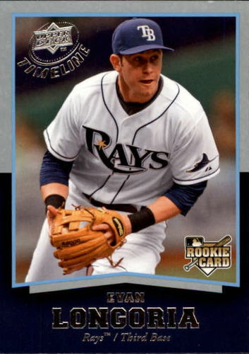 Photo of 2008 Upper Deck Timeline #65 Evan Longoria RC