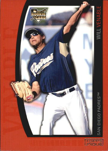 Photo of 2009 Topps Unique Red #197 Will Venable