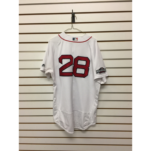 Robbie Ross Jr Game-Used ALDS Game 3 Home Jersey