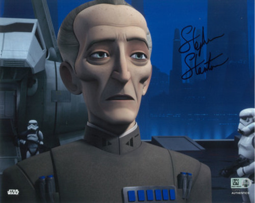 Stephen Stanton as Grand Moff Tarkin 8x10 Autographed in Black Ink Photo