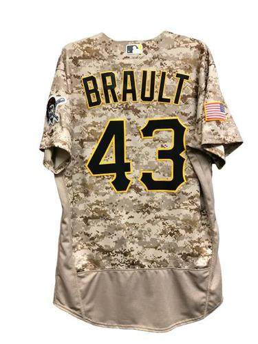 Photo of Steven Brault Game-Used Jersey