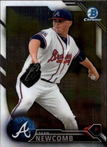 Photo of 2016 Bowman Chrome Prospects #BCP65 Sean Newcomb