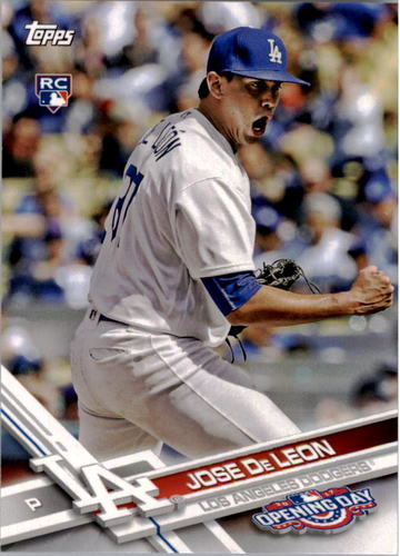 Photo of 2017 Topps Opening Day #82 Jose De Leon RC