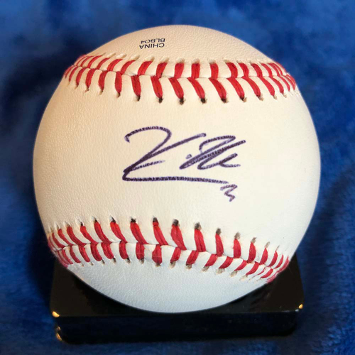 Photo of UMPS CARE AUCTION: Kevin Newman Signed Baseball