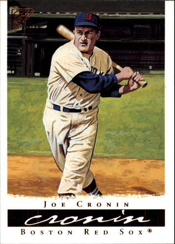 Photo of 2003 Topps Gallery HOF #18 Joe Cronin Blue Sleeve