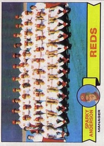 Photo of 1979 Topps #259 Cincinnati Reds CL/Sparky Anderson MG