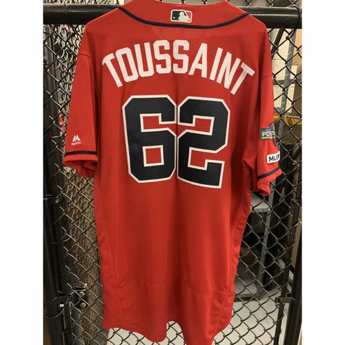 Photo of Touki Toussaint Game Used Jersey - Worn 5/17/19 - Size 48