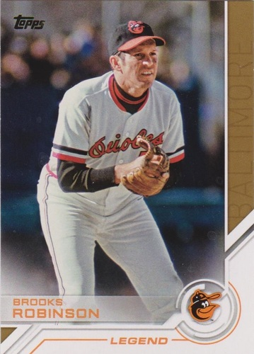 Photo of 2017 Topps Salute #S50 Brooks Robinson