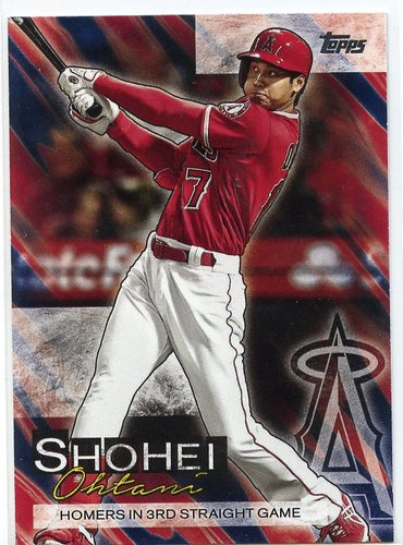 Photo of 2019 Topps Update Shohei Ohtani Highlights #SO7 Shohei Ohtani