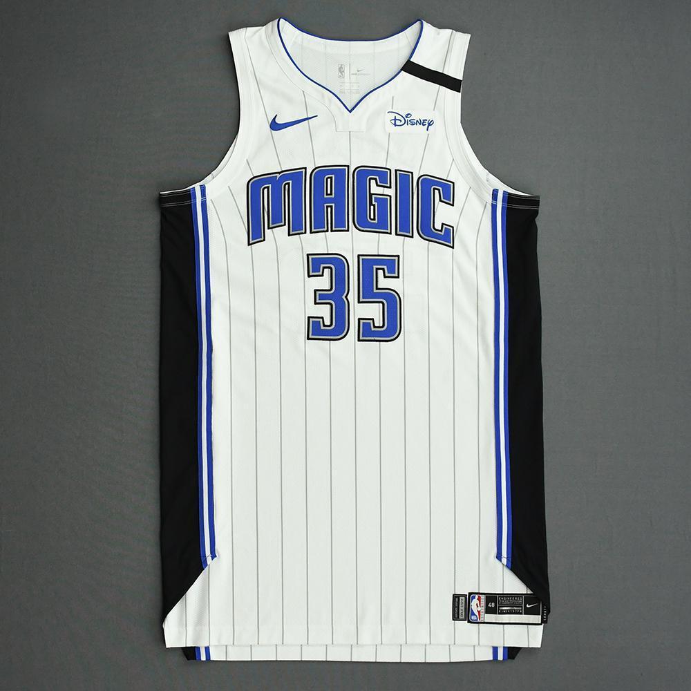 Melvin Frazier Jr. - Orlando Magic - Game-Worn Association Edition Jersey - 2019-20 NBA Season Restart with Social Justice Message
