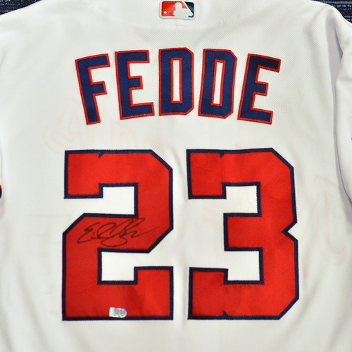Photo of Washington Nationals Philanthropies Jerseys Off Their Back Auction - Erick Fedde - Autographed Team-Issued Jersey - Size 46T