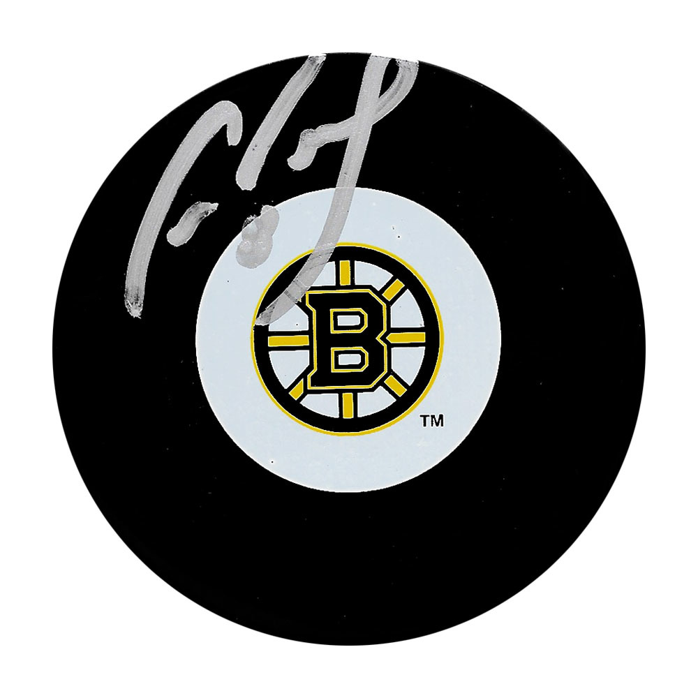 Cam Neely Autographed Boston Bruins Puck