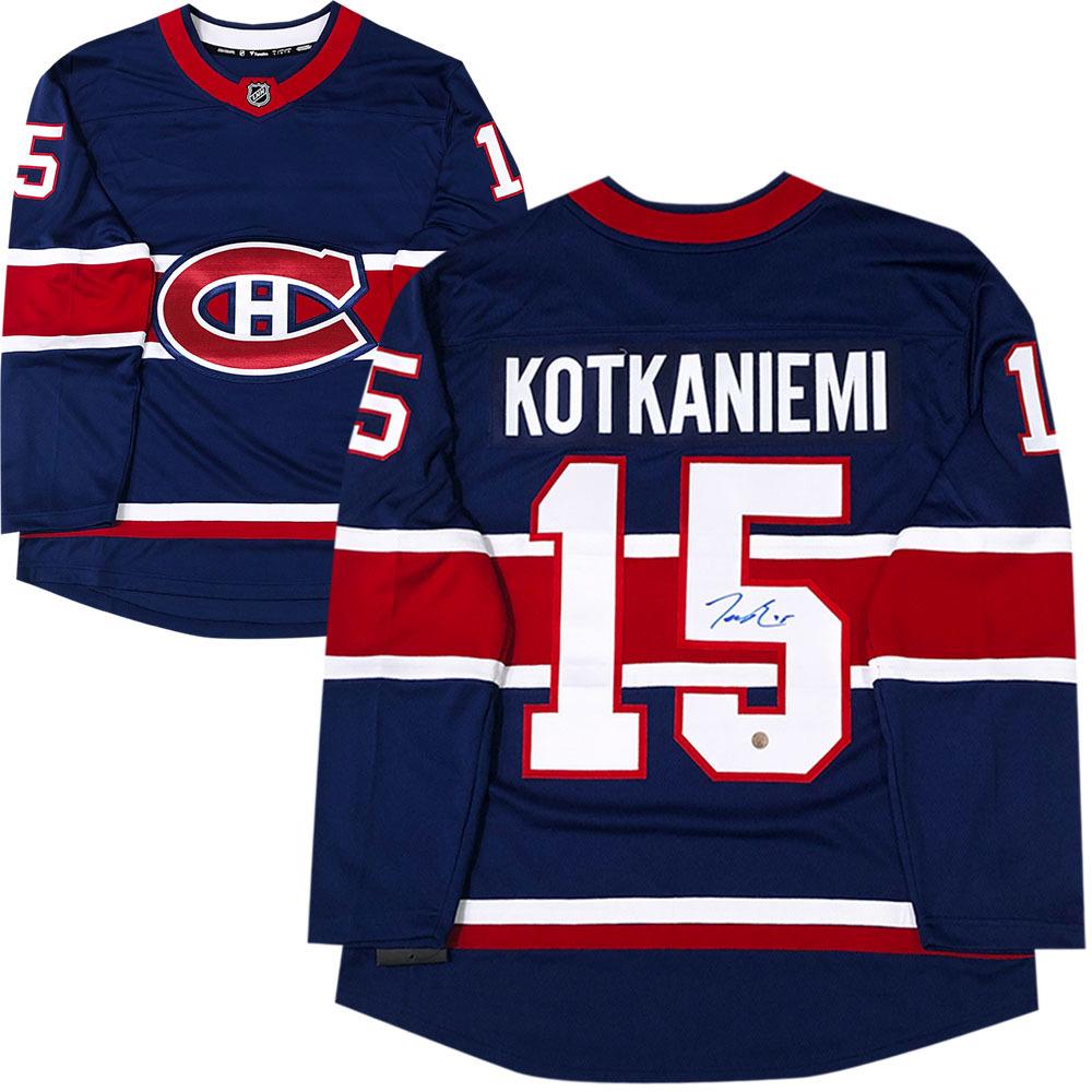 Jesperi Kotkaniemi Autographed Montreal Canadiens Fanatics Special Edition Jersey
