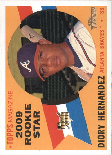 Photo of 2009 Topps Heritage #562 Diory Hernandez RC