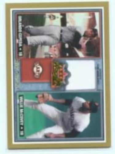 Photo of 2002 Fleer Fall Classics Rival Factions Game Used #27 W.McCovey Jsy-Cepeda/200