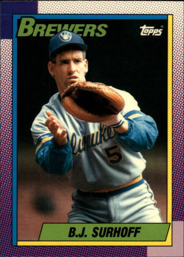 Photo of 1990 Topps Tiffany #696 B.J. Surhoff