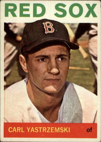 Photo of 1964 Topps #210 Carl Yastrzemski