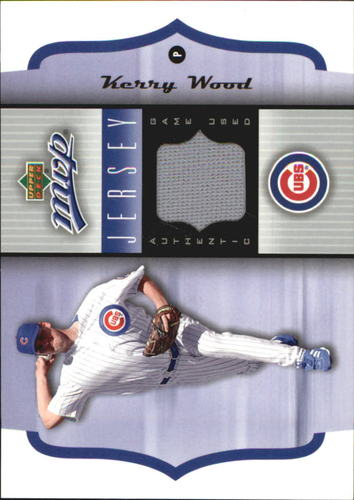 Photo of 2005 Upper Deck MVP Jersey #KW Kerry Wood