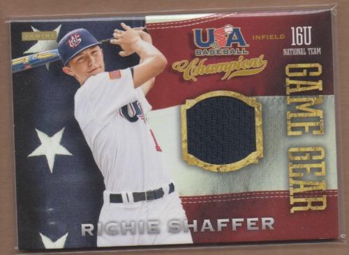Photo of 2013 USA Baseball Champions Game Gear Jerseys #55 Richie Shaffer