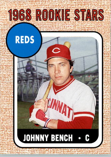 Photo of 2006 Topps Rookie of the Week #16 Johnny Bench 68
