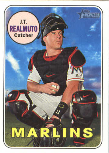 Photo of 2018 Topps Heritage #388 J.T. Realmuto