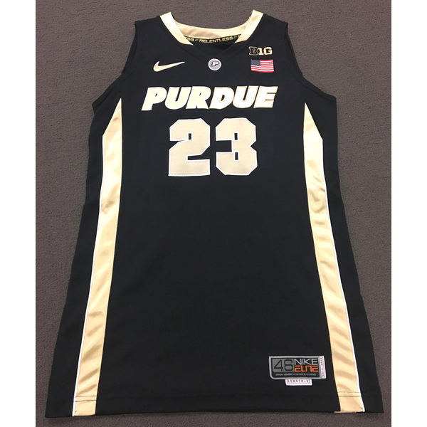 Photo of Clemons #23 Purdue Women's Basketball 2012-13 Black Jersey