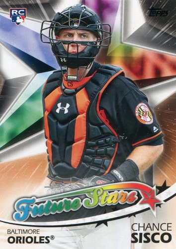 Photo of 2018 Topps Future Stars #FS14 Chance Sisco