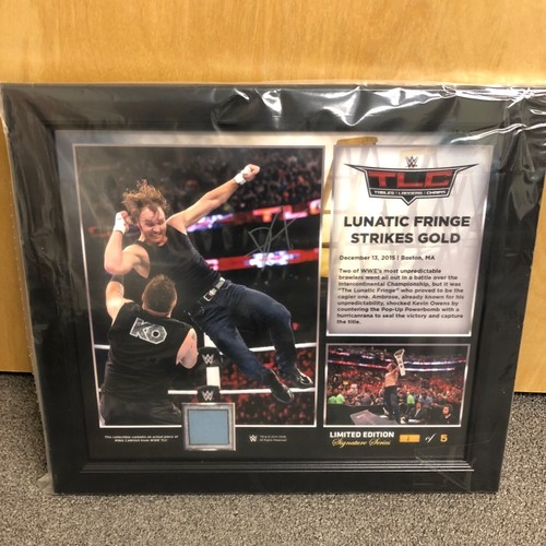 Photo of Dean Ambrose SIGNED TLC 2015 Signature Series Plaque (#1 of 5)