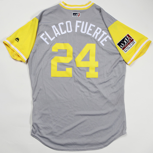 "Photo of Chris ""Flaco Fuerte"" Archer Pittsburgh Pirates Game-Used Jersey 2018 Players' Weekend Jersey"