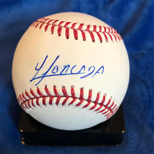 Photo of UMPS CARE AUCTION: Yoan Moncada Signed Baseball