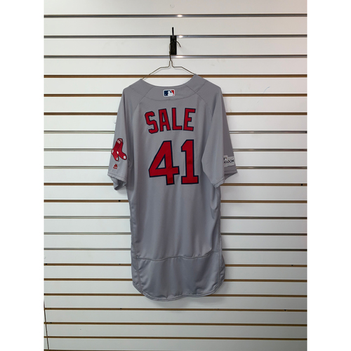 Chris Sale Team Issued 2017 Road Jersey