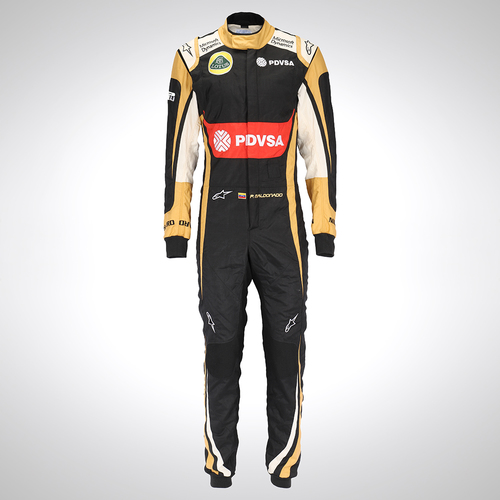 Photo of Pastor Maldonado 2015 Replica Race Suit - Lotus F1 Team
