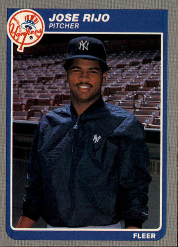 Photo of 1985 Fleer #143 Jose Rijo RC