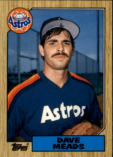 Photo of 1987 Topps Traded #77T Dave Meads