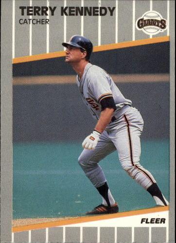Photo of 1989 Fleer Update #128 Terry Kennedy