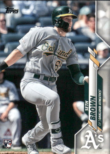Photo of 2020 Topps #123 Seth Brown RC