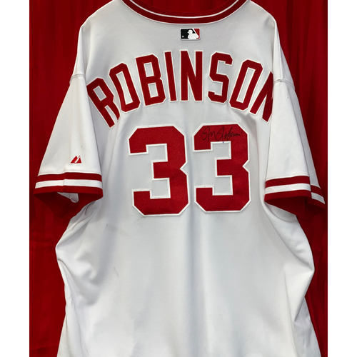 Photo of Ron Robinson Signed Jersey
