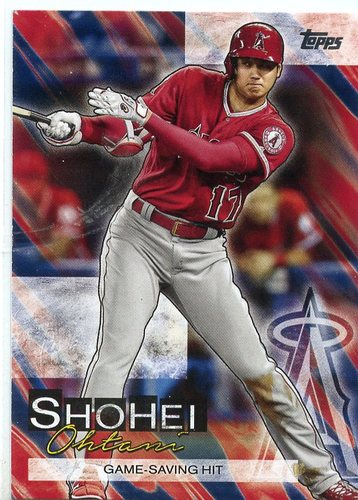 Photo of 2019 Topps Update Shohei Ohtani Highlights #SO9 Shohei Ohtani