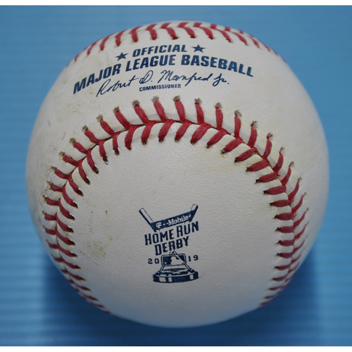 Photo of Game-Used Baseball - 2019 Home Run Derby - Matt Chapman - Round 1, Out