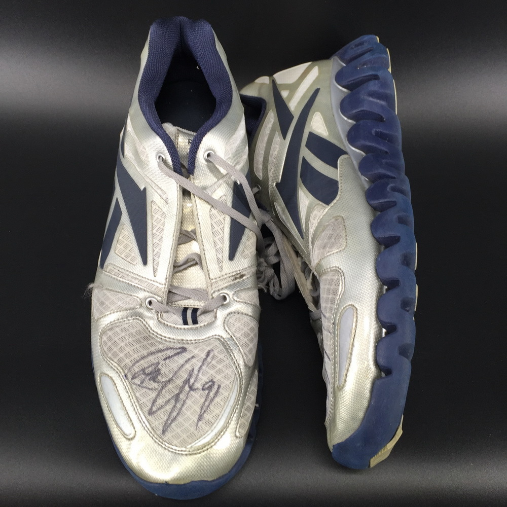 Dolphins - Cameron Wake Signed Game Used Turf Shoes